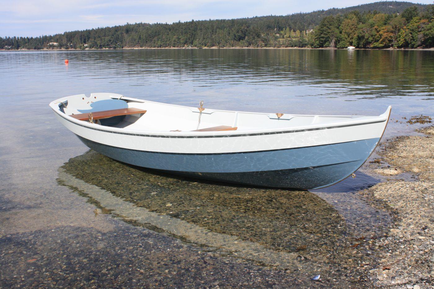 Joel White designed Shellback dinghy