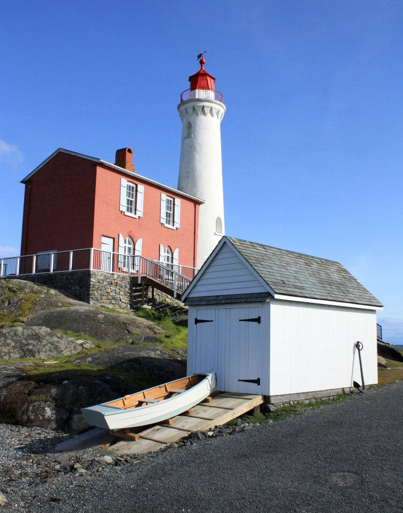 Fisgard lighthouse skiff