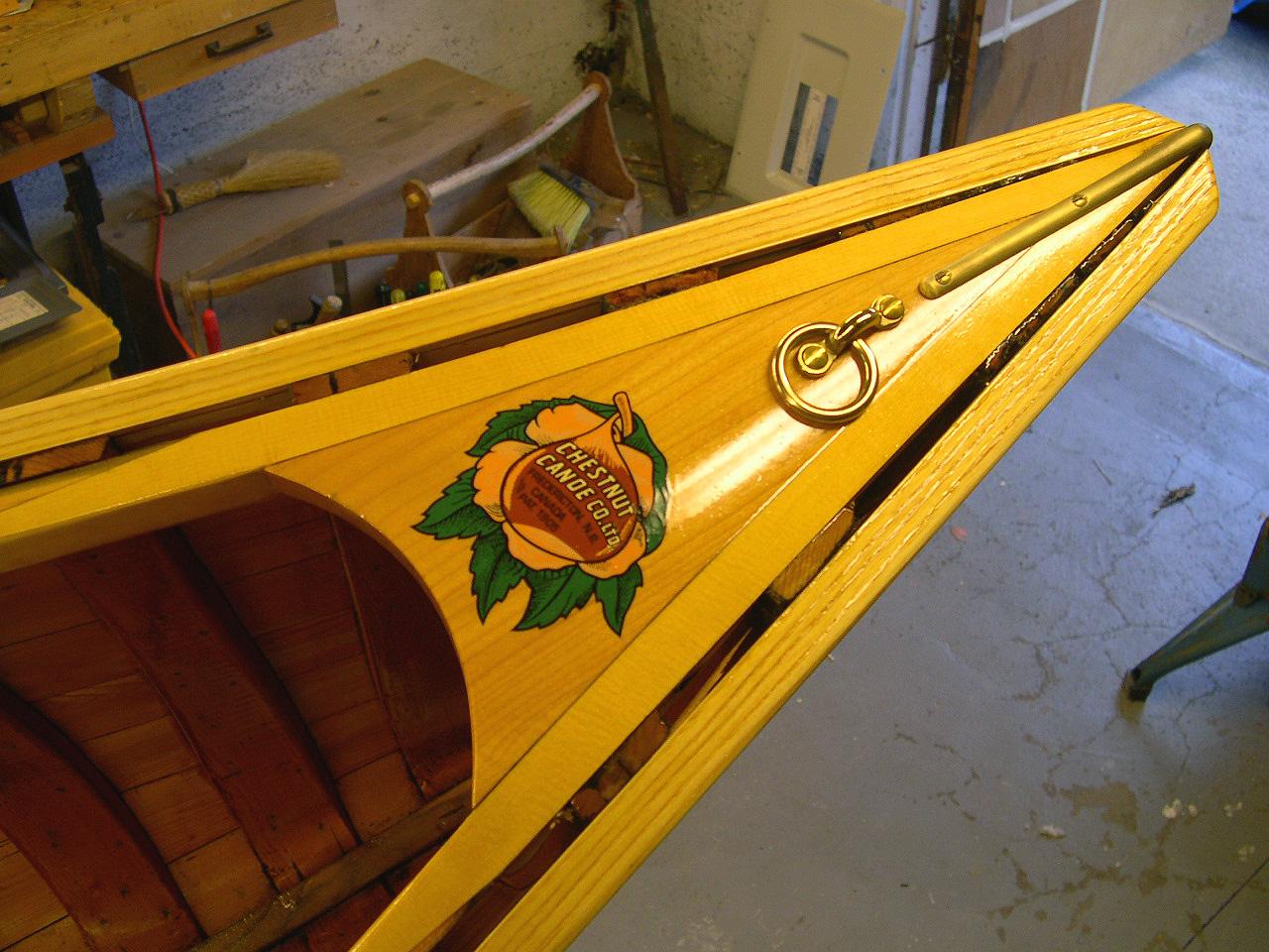 Chestnut canoe breathook