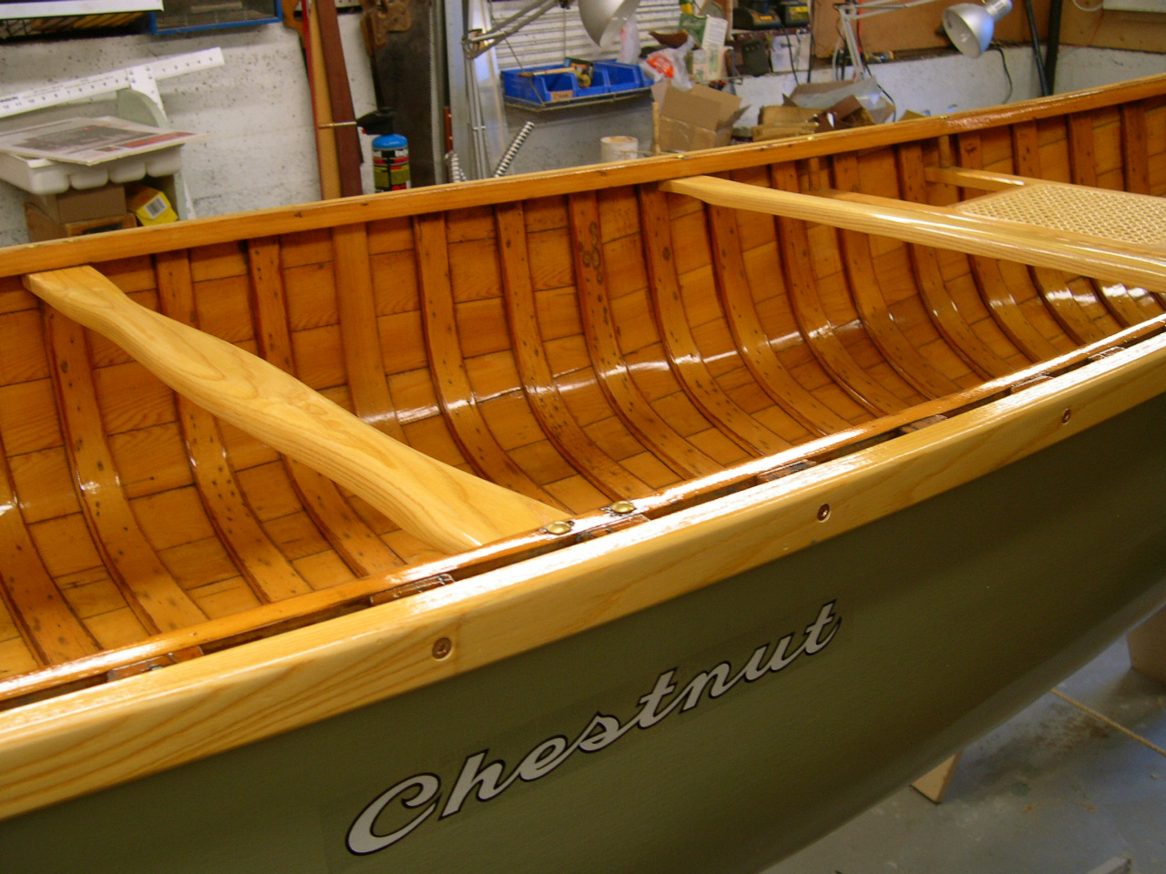 Green Chestnut Canoe