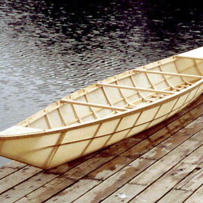 Athapaskan Canoe