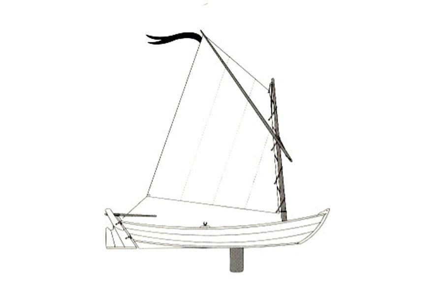 Heidi skiff sail plan
