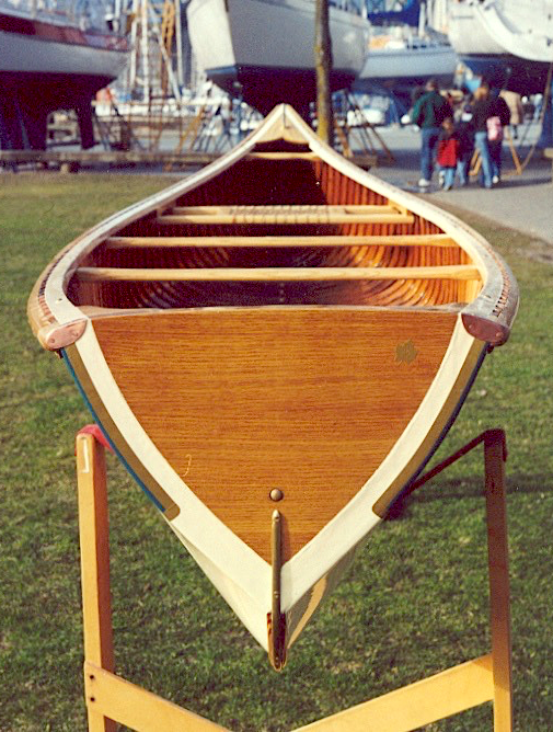 Canadian Canoe Co. transom