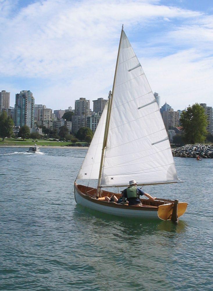 Paul Gartside designed Skylark dinghy