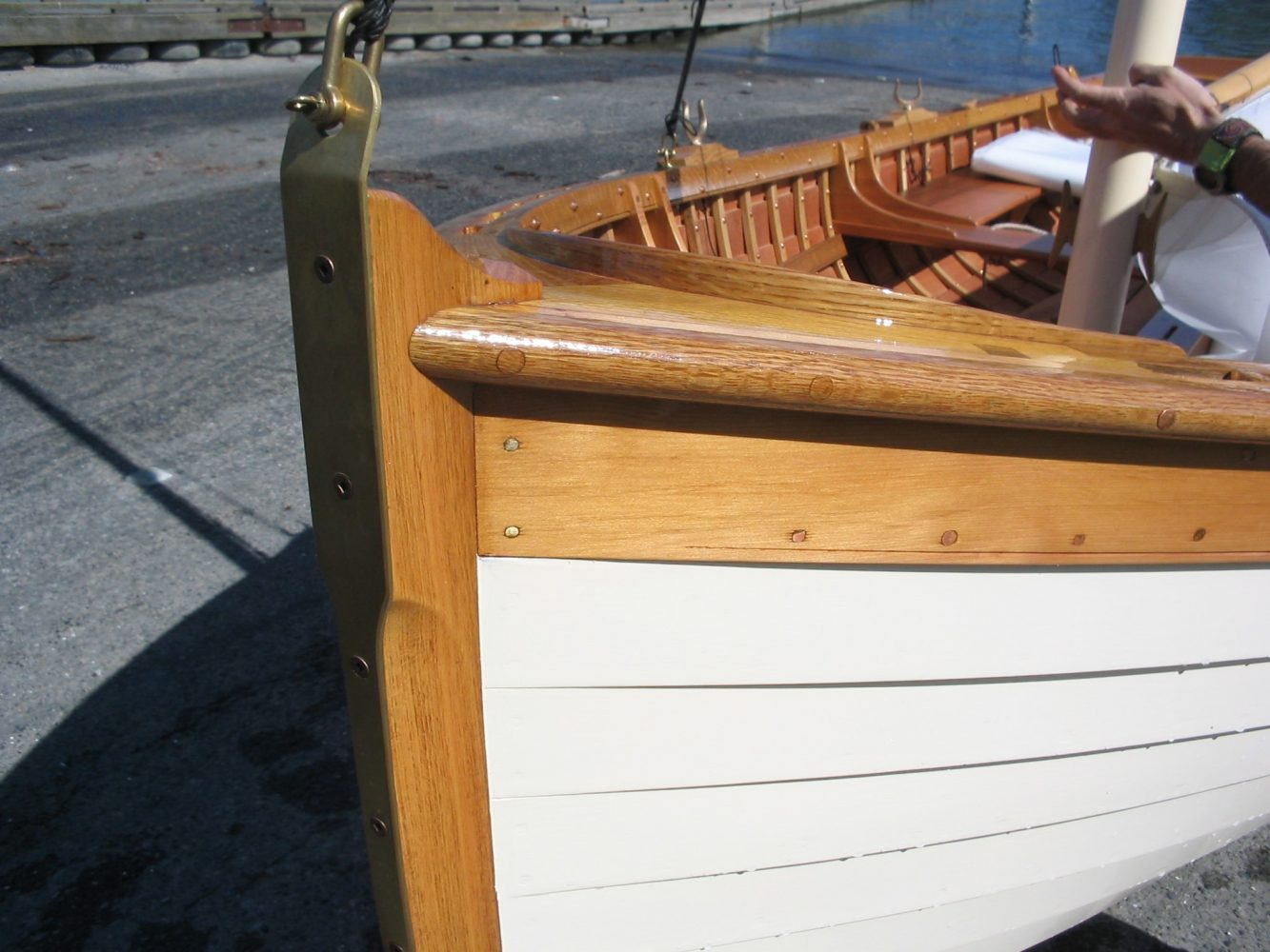 Paul Gartside designed Skylark dinghy