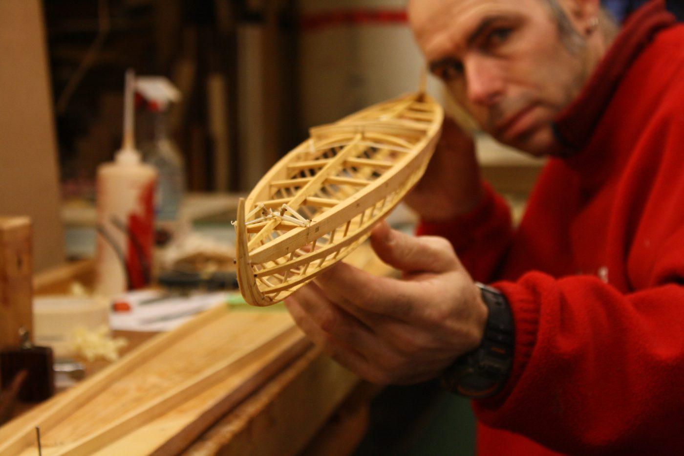 Inuvialuit kayak model