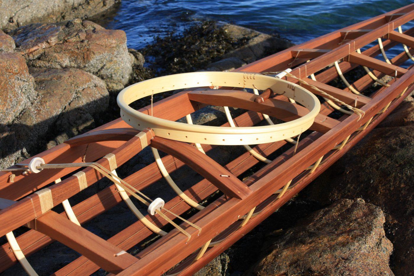 Inuvialuit kayak frame details