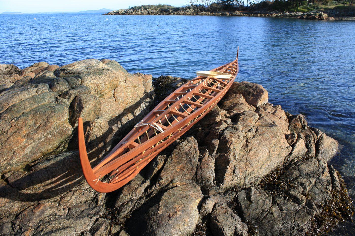 Inuvialuit kayak frame
