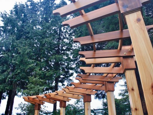 Curved Arbour