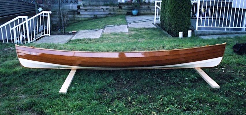 Lapstrake Canoe