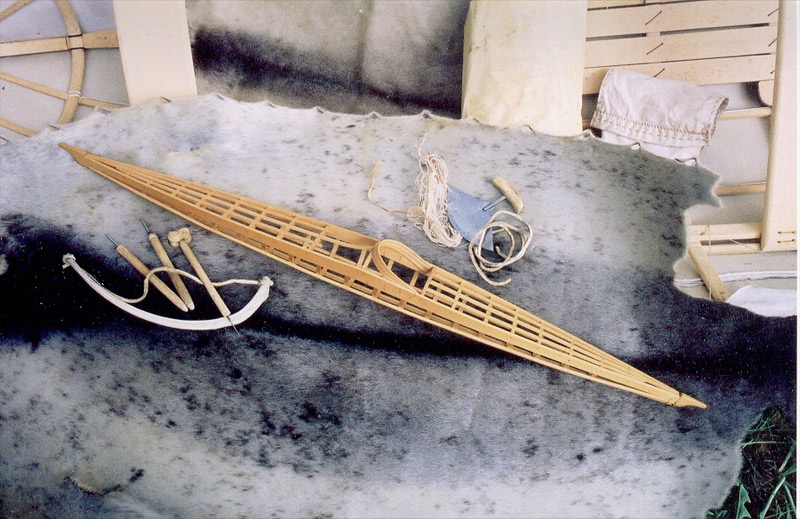Netsilikmeot kayak model