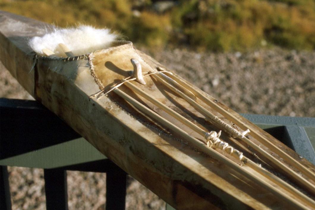 Netsilikmeot kayak model, Kugaaruk Nunavut
