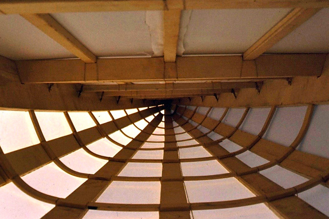 Interior of Netsilikmeot kayak