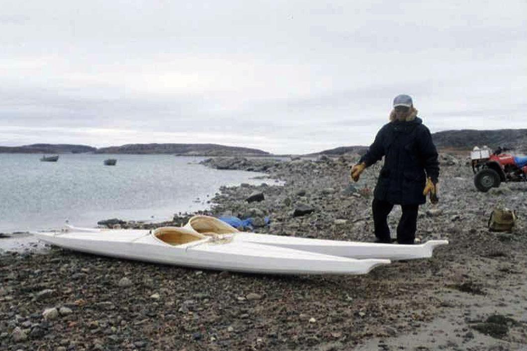 Netsilikmeot kayaks in Nunavut