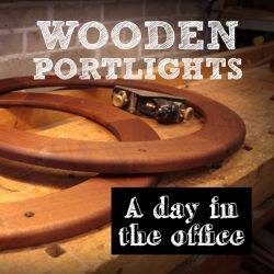 Custom Wooden Portlights