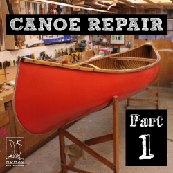 Canoe Repair Part 1 – First steps