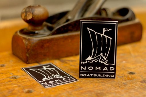 nomad logo sticker