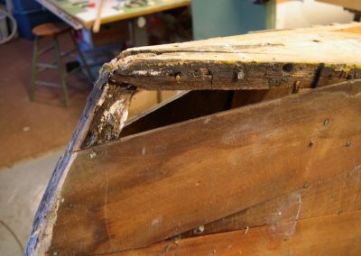 Canoe Repair Part 2 – Stem repairs