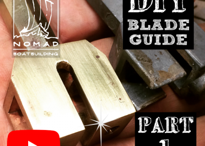 Building Bandsaw blade guides Part 1