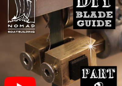 Building bandsaw blade guides part 2