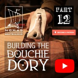 Building the Bouchie Dory Pt. 12 – Scarfing the bottom panel