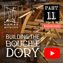 Building the Bouchie Dory Part 11 – Setting up the building jig