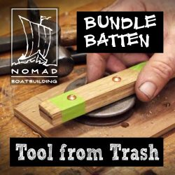 Make a bundle batten from scrap