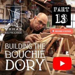 Building the Bouchie Dory Part 13 – Fairing the building jig