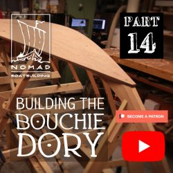 Building the Bouchie Dory Part 14 – Installing the bottom