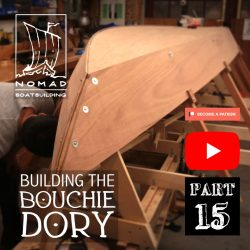 Building the Bouchie Dory Part 15 – The garboard planks