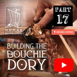 Building the Bouchie Dory Part 17 – Finishing the garboards