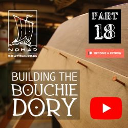 Building the Bouchie Dory Part 18 – Lapstrake planking 1