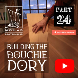 Building the Bouchie Dory Part 24 – Fixing mistakes continued